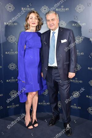 Maria-Cristina Buccellati and Andrea Buccellati