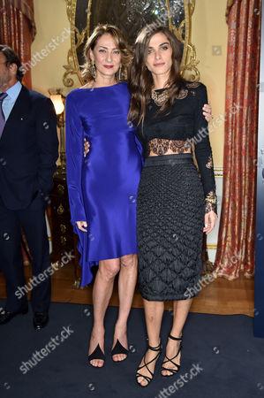Maria-Cristina Buccellati and Elisa Sednaoui