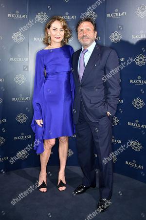 Maria-Cristina Buccellati and Sir Rocco Forte