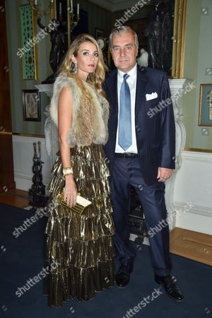 Editorial photo of Buccellati Opera Collection launch party, Spencer House, London, Britain - 21 Oct 2015