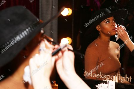 Editorial photo of Sleek MakeUP 24K Gold Collection Launch, London, Britain - 21 Oct 2015