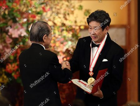Editorial picture of 27th Praemium Imperiale in Honors of Prince Takamatsu, Tokyo, Japan - 21 Oct 2015