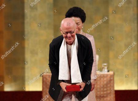 Editorial image of 27th Praemium Imperiale in Honors of Prince Takamatsu, Tokyo, Japan - 21 Oct 2015