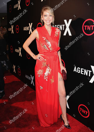Editorial image of 'Agent X' TV series premiere, Los Angeles, America - 20 Oct 2015