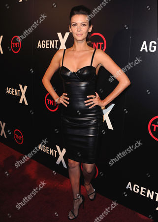 Editorial picture of 'Agent X' TV series premiere, Los Angeles, America - 20 Oct 2015