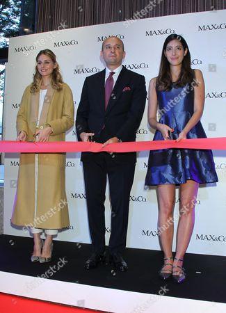 Olivia Palermo, Roberto Macchia, Izumi Mori