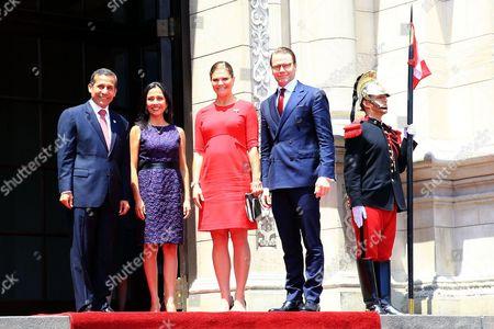 Editorial image of Swedish Royal visit to Lima, Peru - 19 Oct 2015