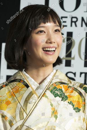 Editorial image of 28th Tokyo International Film Festival opening ceremony, Roppongi Hills, Japan - 22 Oct 2015