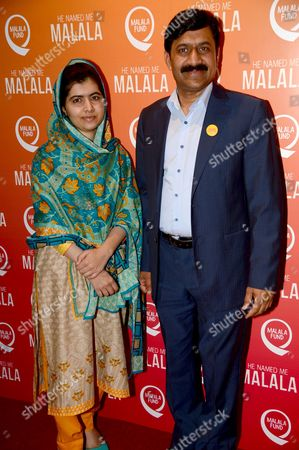 Malala Yousafzai and Ziauddin Yousafzai