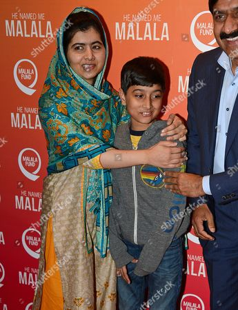 Malala Yousafzai, Ziauddin Yousafzai and Atal Khan Yousafzai