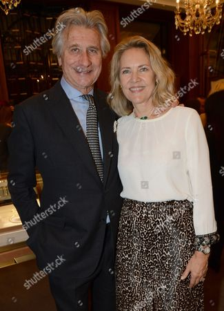 Editorial image of Cartier: Farewell to Arnaud Bamberger - VIP reception, London, Britain - 22 Oct 2015