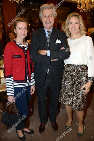 Editorial picture of Cartier: Farewell to Arnaud Bamberger - VIP reception, London, Britain - 22 Oct 2015