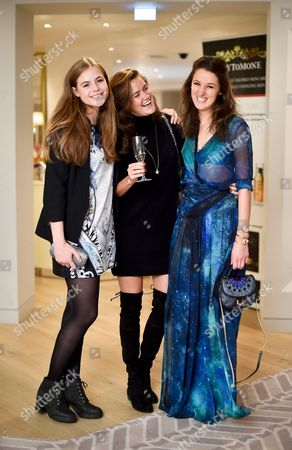 Rosie Tapner, Rosie Thomas and Rosanna Falconer