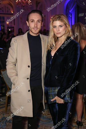 Stock Photo of Kye Sones and Ashley James