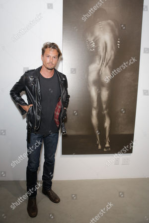 Editorial image of Brian Bowen Smith Metallic Life Exhibition Opening, Los Angeles, America - 22 Oct 2015
