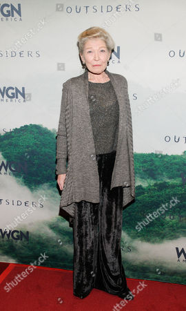 Editorial picture of 'Outsiders' TV series premiere, New York, America - 22 Oct 2015