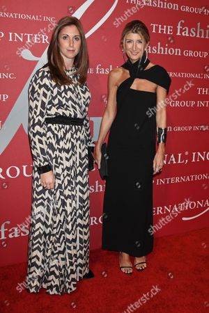 Stock Picture of Heather Kaminetsky, VP Global Marketing at Net-a-Porter and Sarah Rutson, VP of global buying at Net-a-Porter