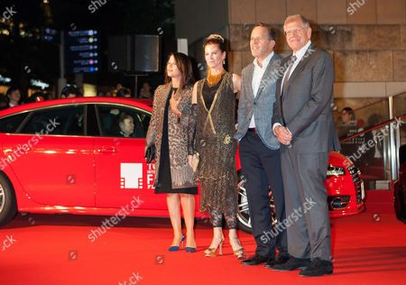Jack Rapke, Robert Zemeckis with guests