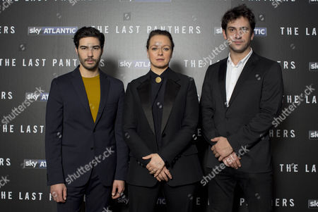 Editorial picture of 'The Last Panthers' TV series premiere, London, Britain - 22 Oct 2015