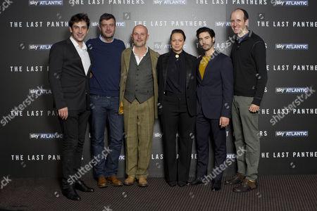 Goran Bogdan,Jerome Pieratt(co-creator)Peter Carlton(exec.Producer) Samantha Morton, Tahar Rahim and Jack Thorne (creator).