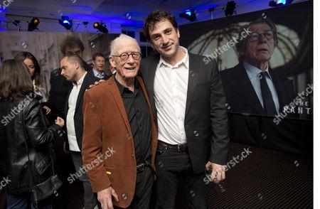 Stock Image of John Hurt & Goran Bogdan
