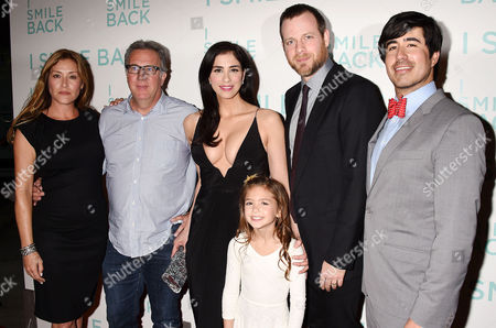 Paige Dylan, Richard Arlook, Sarah Silverman, Mia Barron and Adam Salky