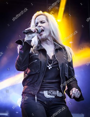 Stock Picture of Vasby Rock Allstars - Cherie Currie