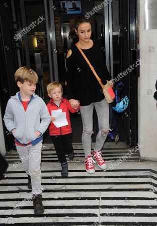 Natasha Evans, Noah Evans and Eli Evans