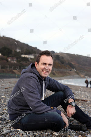 Stock Picture of Damian Leith at Killiney Beach, Dublin.