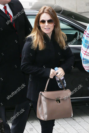 Editorial image of Gerri Halliwell out and about, London, Britain - 23 Oct 2015