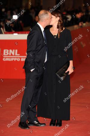 Claudio Cupellini and fiancee