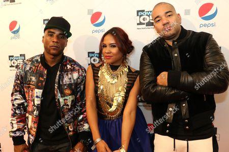 Charlamagne Tha God, Angela Yee and DJ Envy