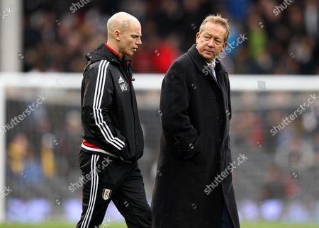 Fulham's Director of Football, Alan Curbishley