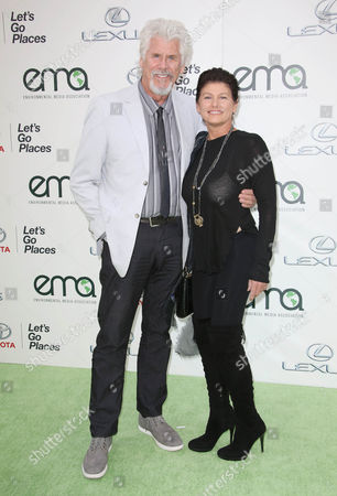 Stock Picture of Barry Bostwick and Sherri Jensen