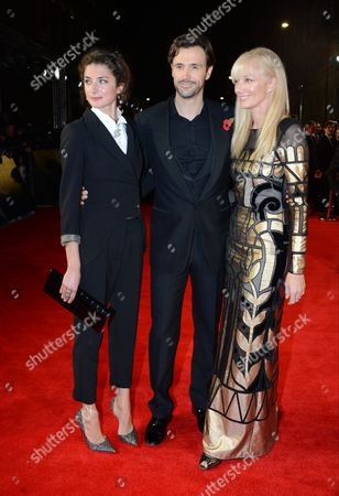 Daisy Bevan, Michael Xavier and Joely Richardson