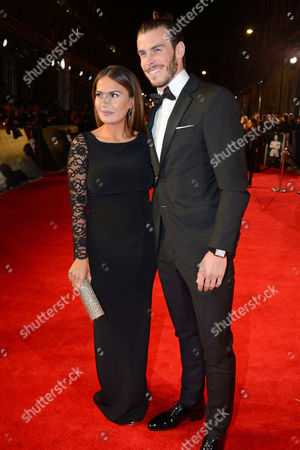 Emma Rhys-Jones and Gareth Bale