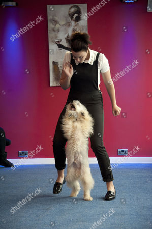 Ashleigh and Pudsey