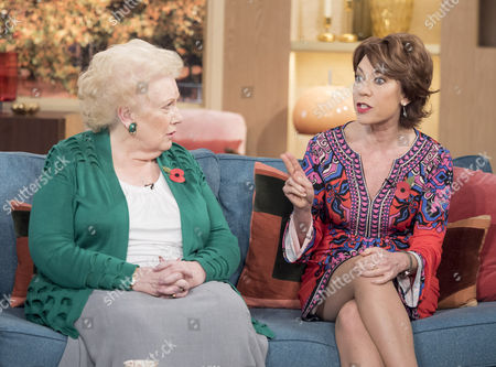 Denise Robertson and Kathy Lette
