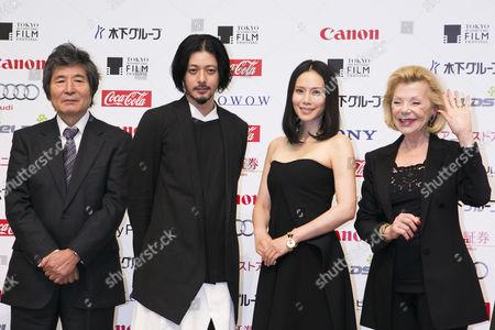 Kohei Oguri, Joe Odagiri, Miki Nakatani and Claudie Ossard