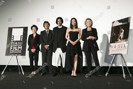 Kazuko Inoue, Kohei Oguri, Joe Odagiri, Miki Nakatani and Claudie Ossard