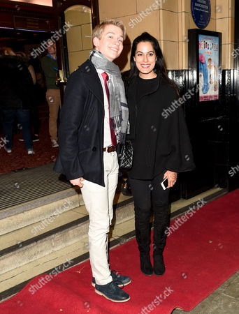 Richard Linnell and Amrit Maghera (Hollyoaks).