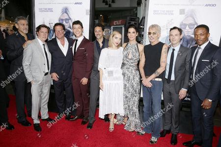 George Clooney, David Gordon Green, Joaquim de Almeida, Reynaldo Pacheco, Grant Heslov, Zoe Kazan, Sandra Bullock, Billy Bob Thornton, Scoot McNairy, Anthony Mackie