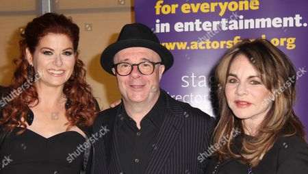 Debra Messing, Nathan Lane, Stockard Channing