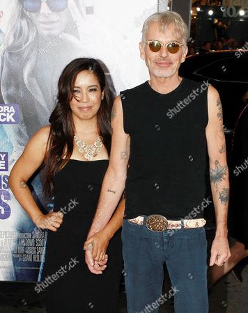 Connie Angland and Billy Bob Thornton