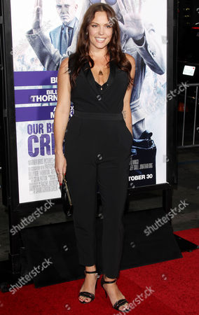 Editorial photo of 'Our Brand is Crisis' film premiere, Los Angeles, America - 26 Oct 2015