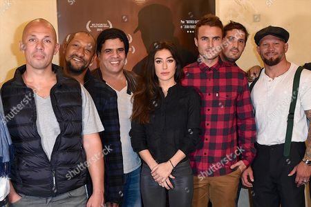 Editorial photo of 'Night Fare' film premiere, Paris, France - 26 Oct 2015