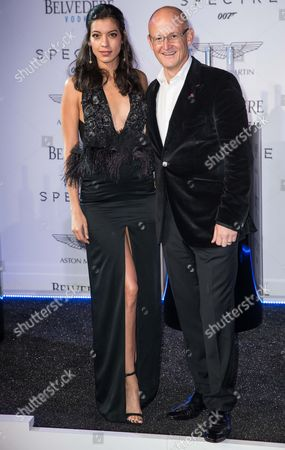 Stock Picture of Stephanie Sigman and Charles Gibb (President of Belvedere Vodka)