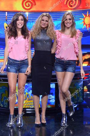 Ludovica Frasca, Michelle Hunziker, Irene Cioni