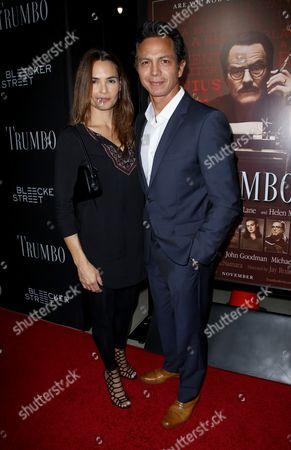 Benjamin Bratt and Talisa Soto