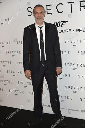 Editorial photo of James Bond 'Spectre' film premiere, Rome, Italy - 27 Oct 2015